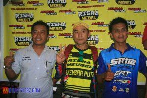 H. Agus with mang Odoy dan Yusep Suhairi