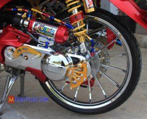 Modifikasi Yamaha Fino 2014 : CVT-Dipermak Kinclong