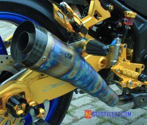 Modifikasi Yamaha R25 : Knalpot R9 (Garang and Sporty)