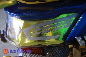 Modifikasi Yamaha NMax : Stoplamp-Digauli LED Aes
