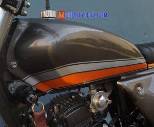 Modifikasi Honda Tiger : Tangki-Custom