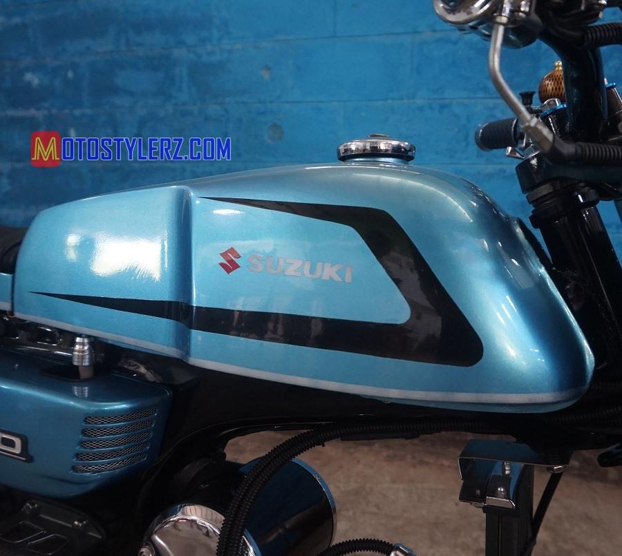 Modifikasi Suzuki a1000 : Tangki-Ditimpa Warna Elegant