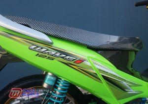 Modifikasi Motor Honda Supra X125 : Bodi-Ditimpa Warna Ngejreng