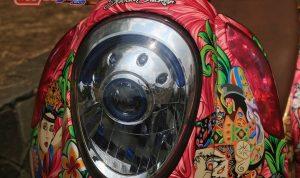 modifikasi motor honda scoopy 2013 Cimahi : Bodi Dpn-Kombinasi Floral & Pop Art