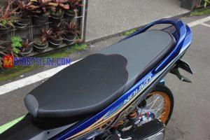 Modifikasi Yamaha Nouvo 2005 : Jok-Custom X-Ride