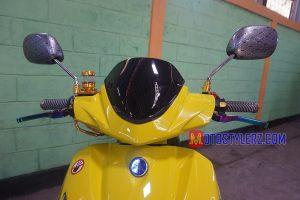 Modifikasi Yamaha Nouvo 2005 : Kedok-Dilengkapi Multi Aseso