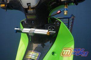 Modifikasi Motor Honda Supra X125 : Stabilizer-Single Ohlins