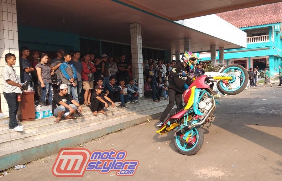 Bogor Custom Art, Kontes Modifikasi Motor Bogor 2018 : Jonggol Stunt Rider-Beraksi Extreme