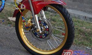 modifikasi motor jadul honda 125 Indramayu : Roda Dpn-Sporty Bareng Sok Ninja R
