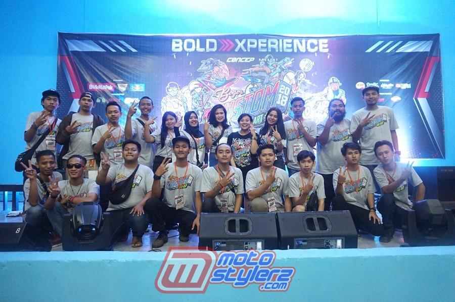 Bogor Custom Art, Kontes Modifikasi Motor Bogor 2018 : Skuad Concep-Makin Sukses Di Ajang Kedua