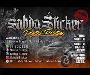 Sabda Sticker Cimahi
