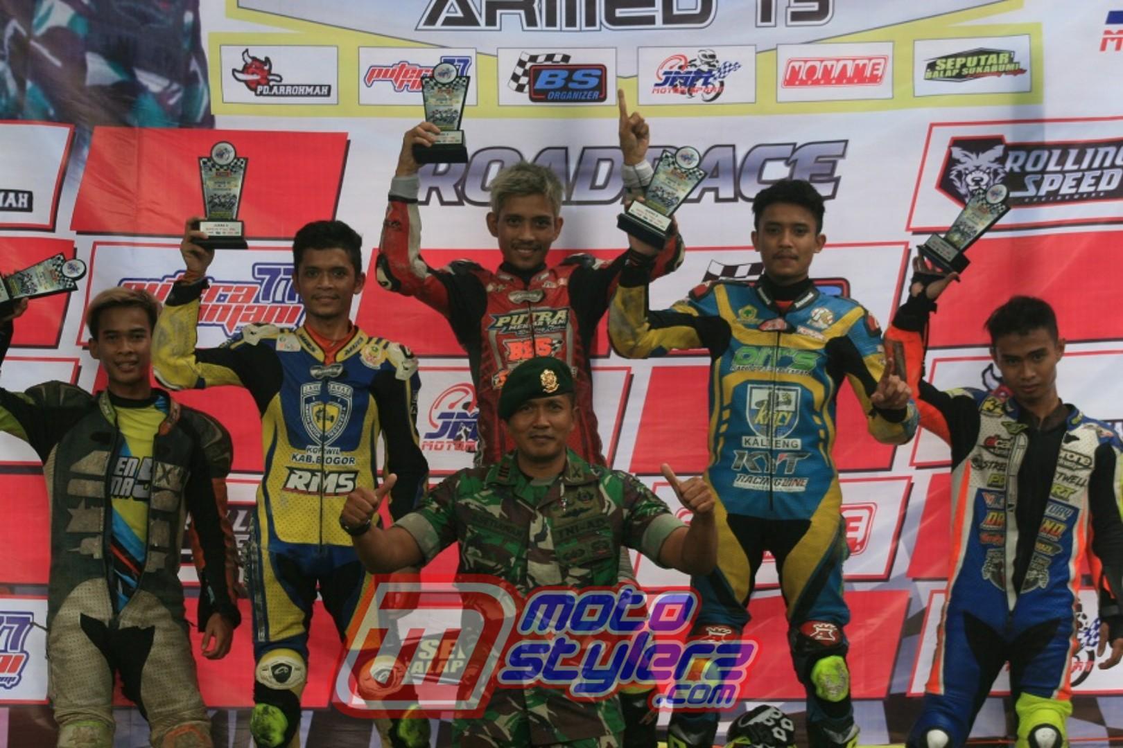 Kapten ARM Sugeng Setiawan - Dukung Terus Roadrace Sukabumi