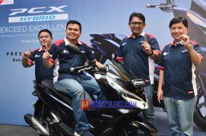 All New Honda PCX Hybrid-Siap Memanjakan Skutik Lover Bandung & Jabar