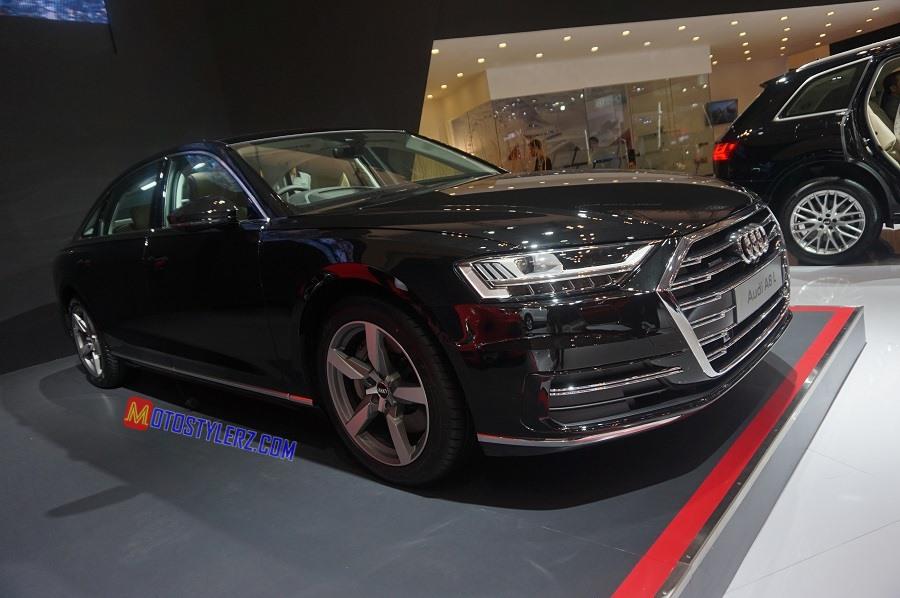 The New Audi A8 L-Hadir 6 Pilihan Warna