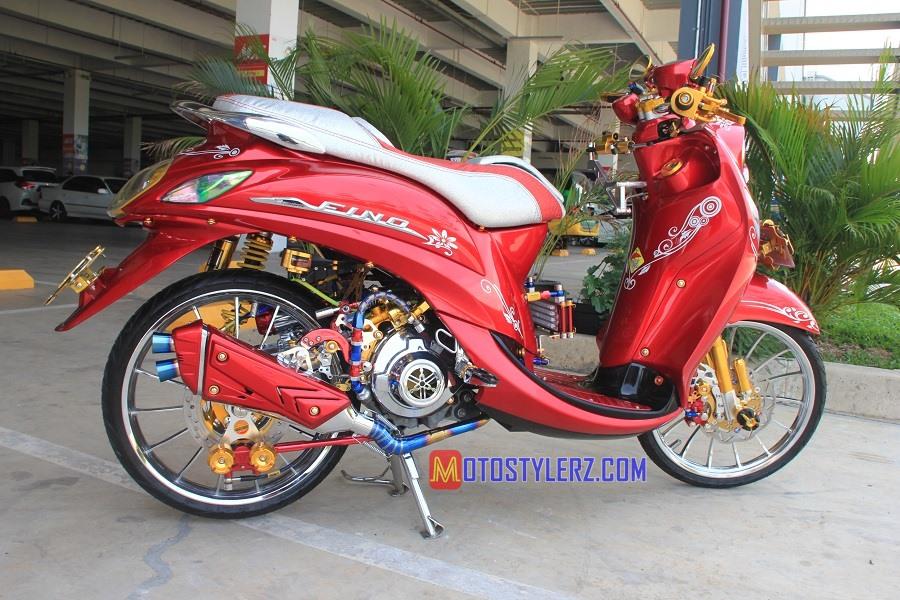 Modifikasi Yamaha Fino 2014