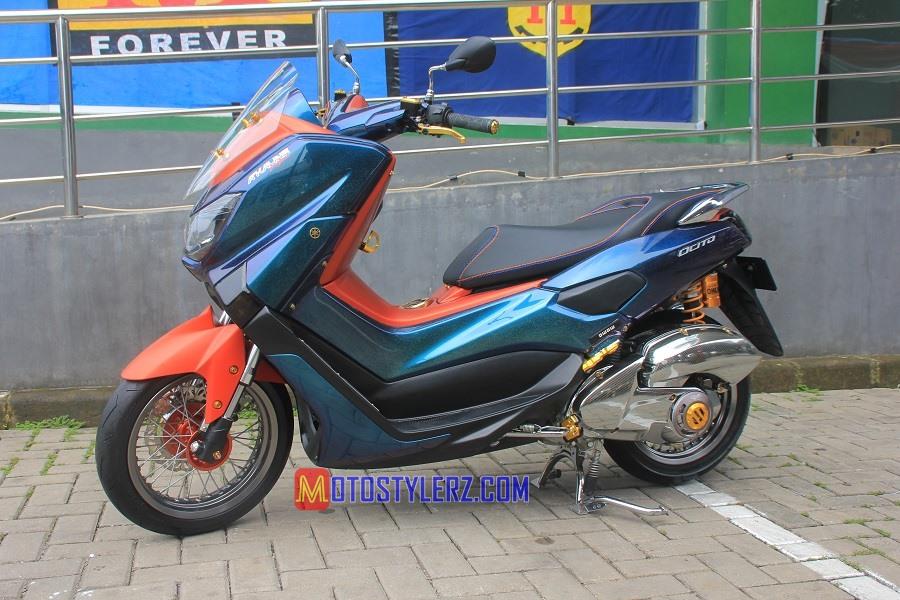 Modifikasi Yamaha NMax 2015