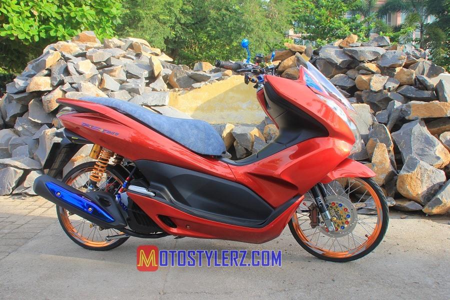 Modifikasi Honda PCX-Simply Thailook