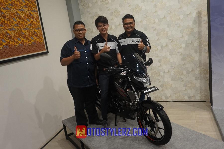Banggas F.S Pardede Ditemani Ota Keisuke & Harsoyo-Ajak Media Mengenal Lebih Dalam Suzuki GSX150 Bandit