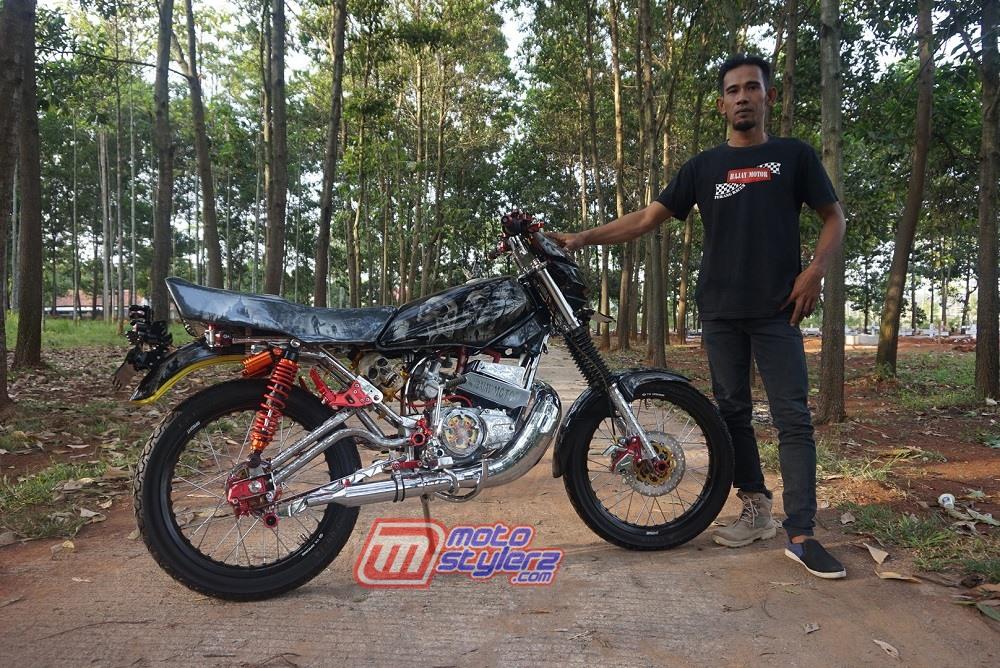 modifikasi motor yamaha rx king 2006 Cileungsi Bogor :