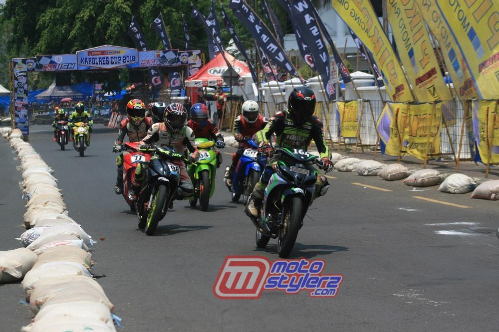 Hasil Kejuaraan Balap Motor Pikoli Dewasena Kapolres Cup (Karawang)