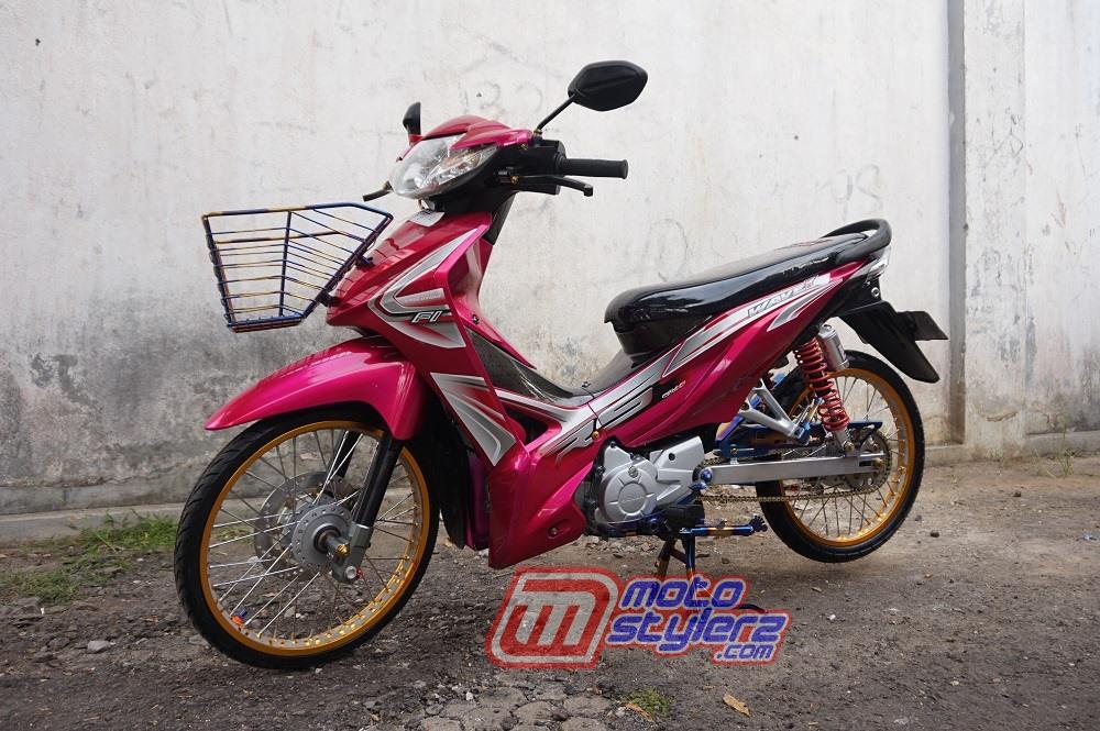 Modifikasi motor honda reabsolute revo 2009 Sukabumi : Modifikasi Absolute Revo-Inpirasi Thailook