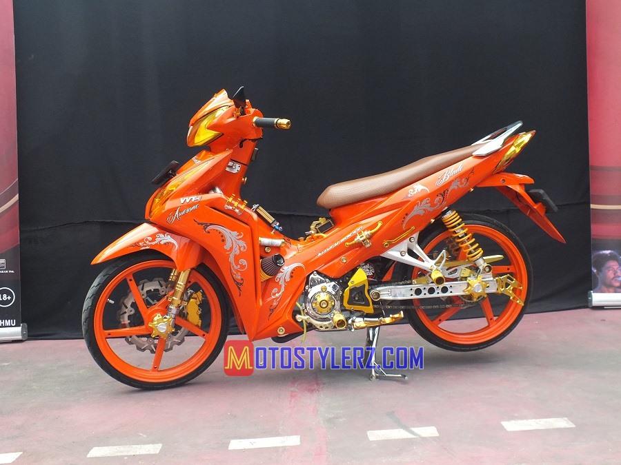 Modifikasi Honda Blade 2012 : Modifikasi Blade-Fresh Fashion Look