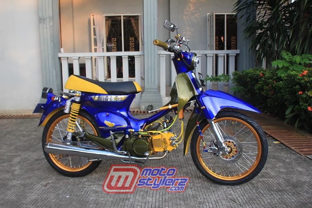 Modifikasi C100 2002 Bekasi Kawin Silang C70 Classic Racing Terbukti Ampuh