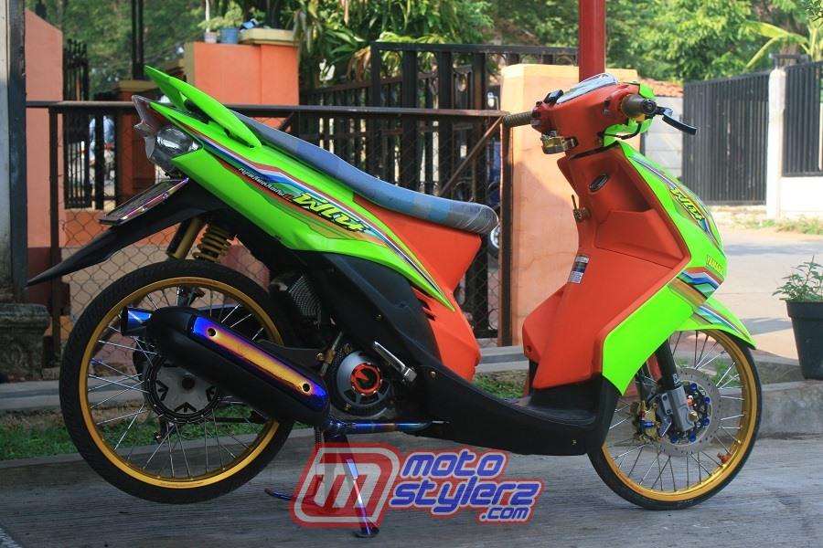 modifikasi motor yamaha mio soul 2008 subang gaya thailook : Modifikasi Mio Soul-Kontras Thailook Style