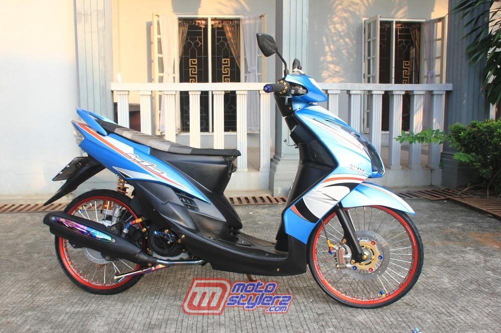 modifikasi motor yamaha mio soul 2009 Cikarang : Modifikasi Mio Soul-Thailook Anti Boros