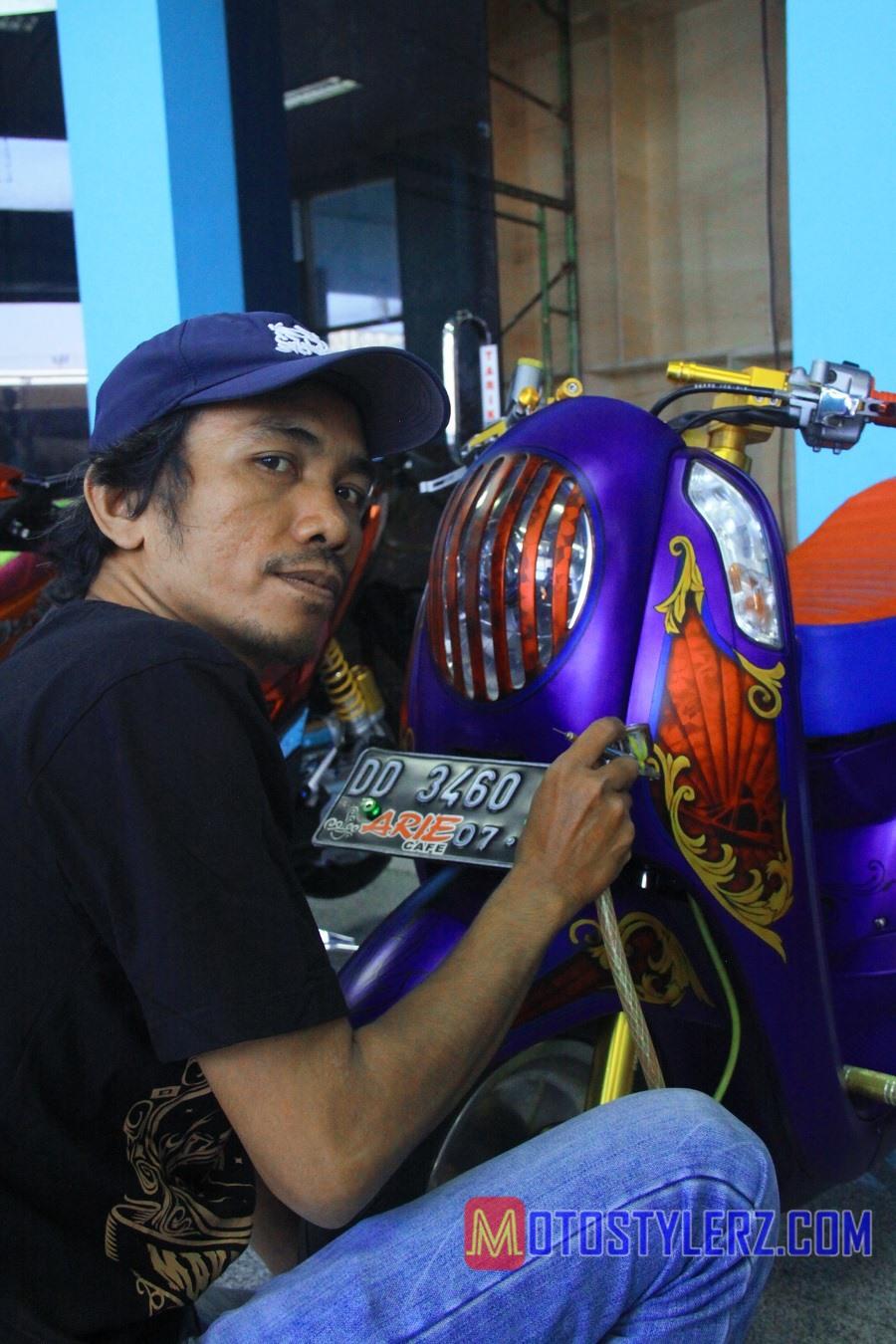 Roemahkoe Airbrush-Jadi Rujukan Modifstylerz Makassar
