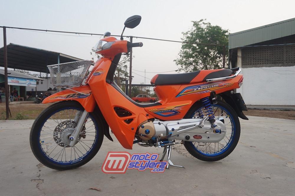modifikasi honda kirana 2003 Kuningan : Modifikasi Kirana-Dirangkul Orange Thailook