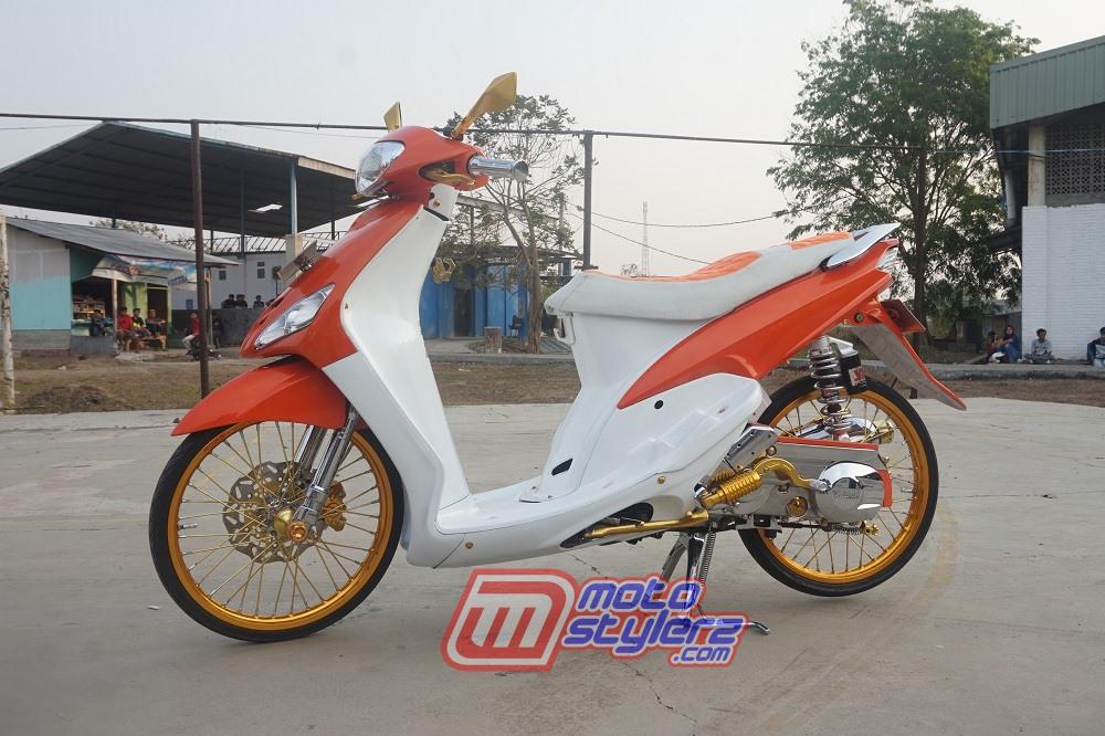 Modifikasi Motor Yamaha Mio 2007 Tangerang Fashion Look : Modifikasi Mio-Bukti Setia Fashion Lover