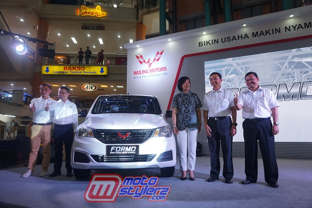 Cindy Cai-Vice President Vehicle Sales, Service and Marketing of Wuling Motors.