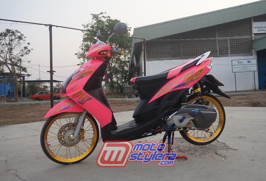 foto gambar modifikasi motor yamaha mio soul bekasi : Modifikasi Mio Soul-Sweet Thailook