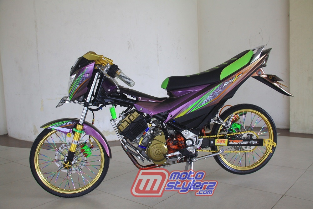 Modifikasi Satria FU-Fashion Racing Style