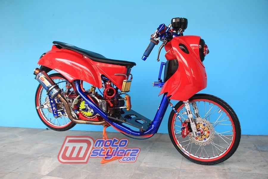 Modifikasi Fino-Angker Racing Style