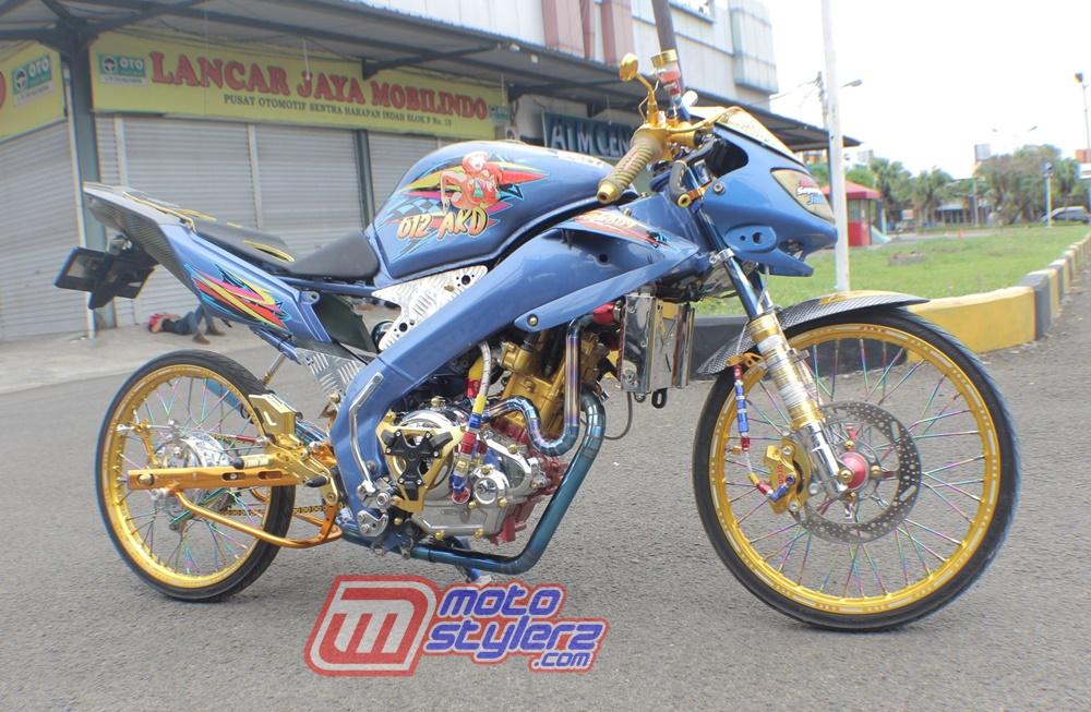 Modifikasi Vixion-Tetap Racing Beruniform Stylish