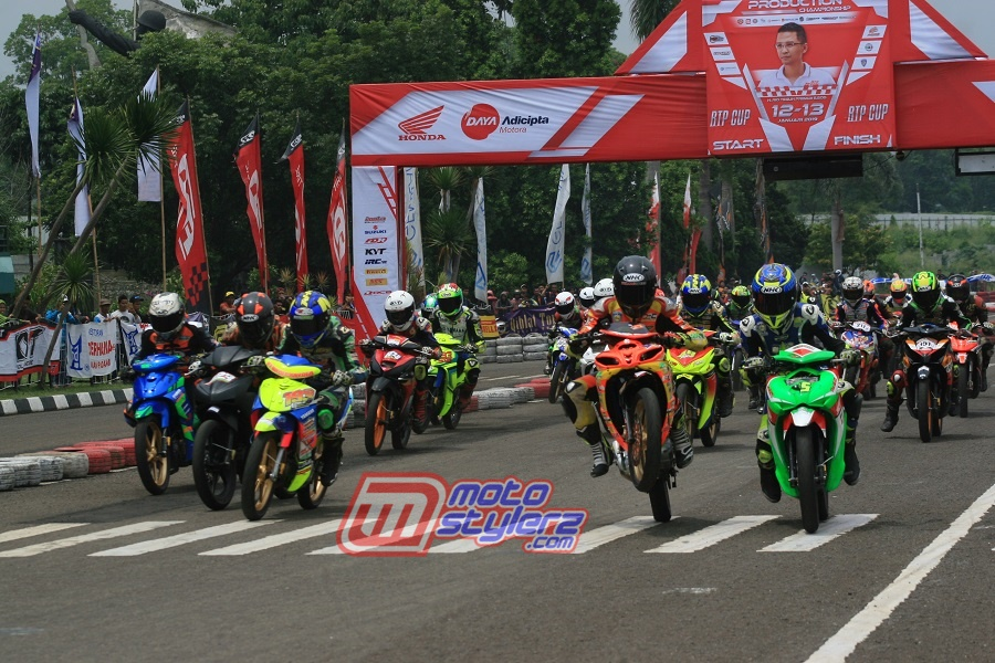 """Gebyar Honda Daya Trijaya Sumber Production RTP Cup """"2019 (Cimahi): Kedua Kian Istimewa, Tembus 902 Stater & Bernuansa Kejurnas"""