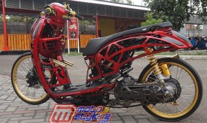 Modifikasi Scoopy-Mothai Racing Style