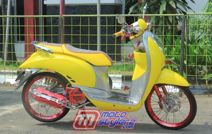 Modifikasi Scoopy-Siap Narsis Bareng Gaya Rookies