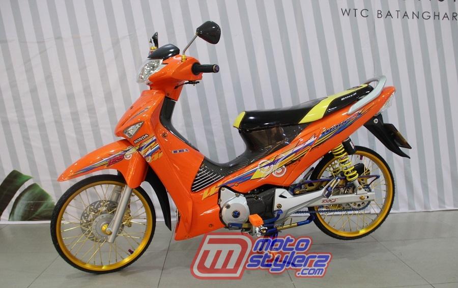 Modifikasi Supra X125-Maskot Rookies Thailook