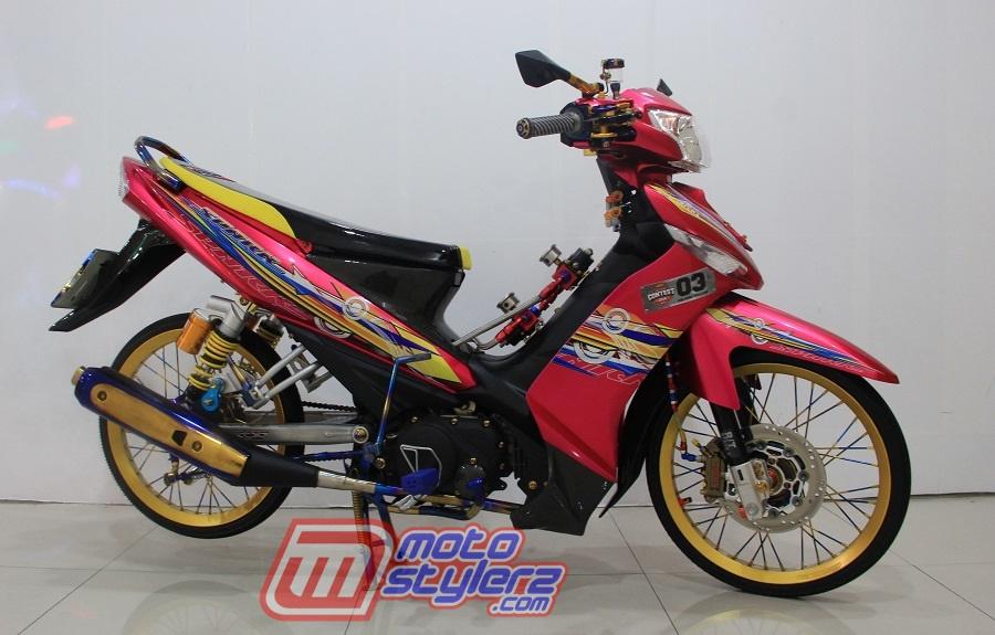 Modifikasi Vega ZR-Pinky Mothai