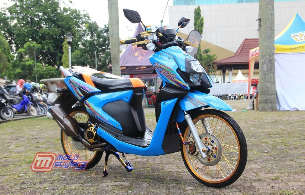 Modifikasi X Ride-Bersolek Minimalis Thailook