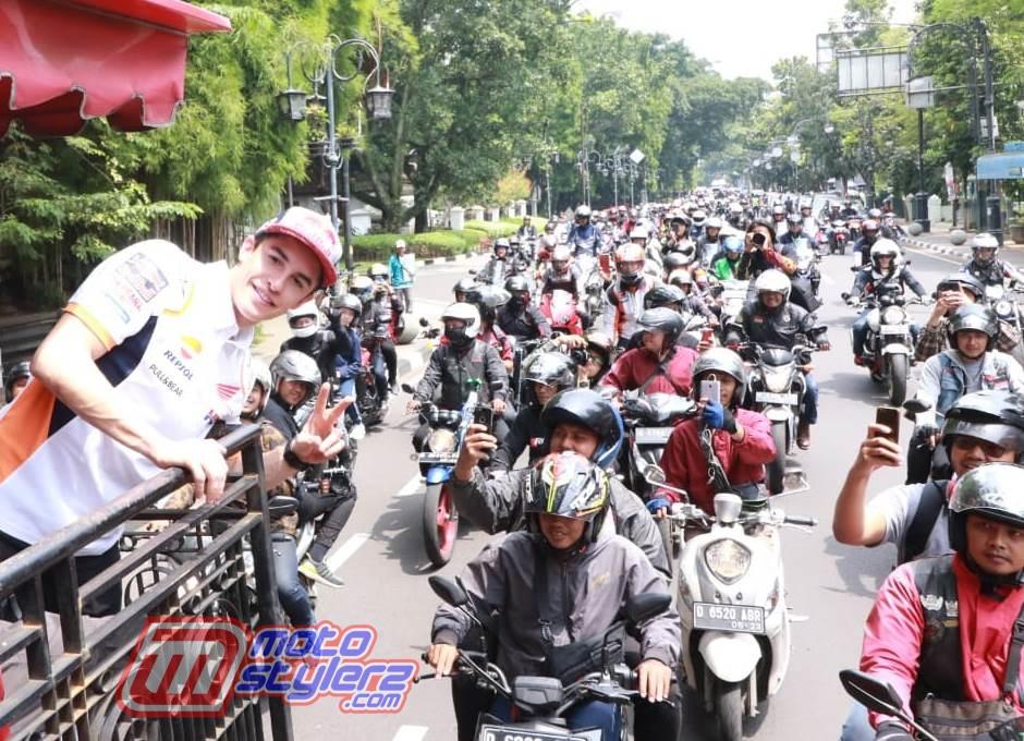 Marc Marquez-Dikawal 100 Biker Honda