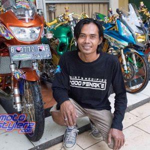 Podo Penak'e Paint & Modified (Cikarang): Buka Jasa Karbon Printing, Kualitas Paint & Genre Racing Kian Perform Maksimal