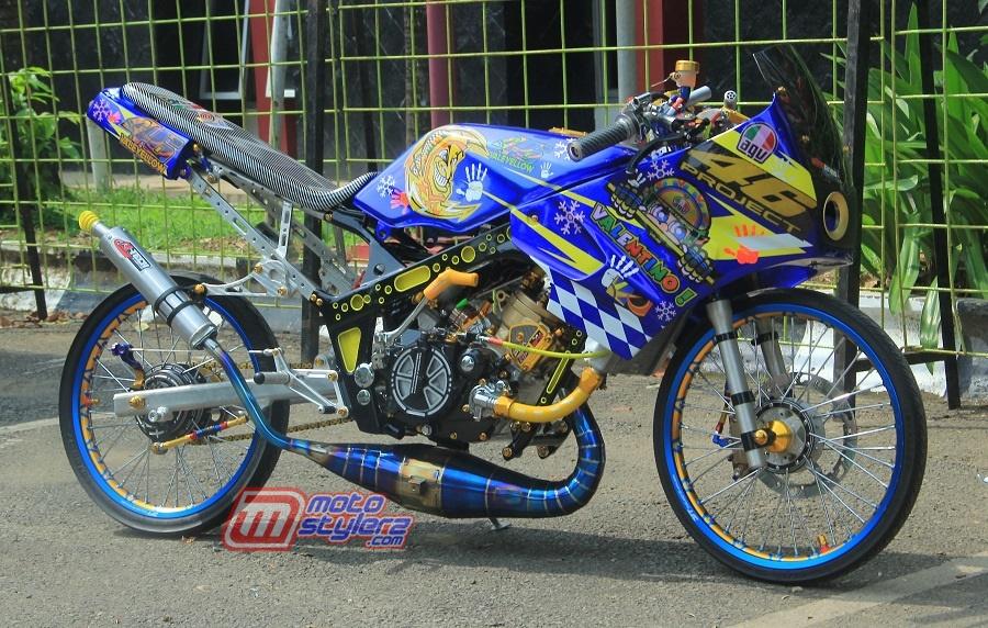 Modifikasi Ninja R-Influens Racing Thailand