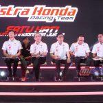 Momen Perkenalan Tim Balap Astra Honda Racing Team