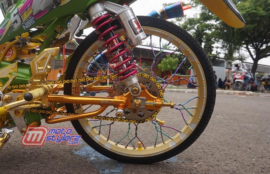 Roda Blk-Dikawal Swingarm B Pro