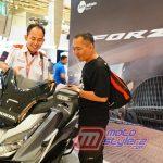 Konsumen Mendaptkan Info Lengkap Mengenai Fitur Canggih Honda Forza