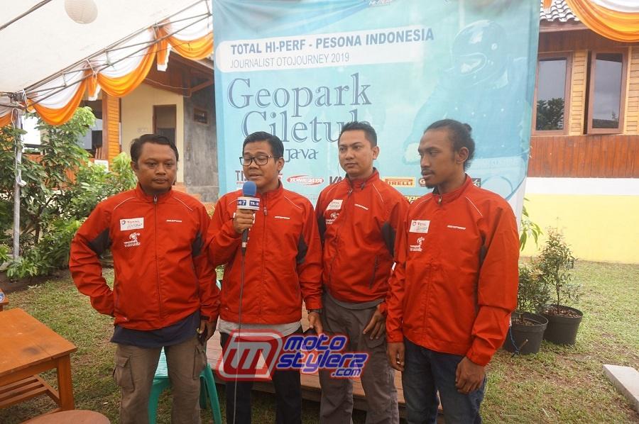 Wisnu, Edhot, Yuda dan Alfril (4 Bersaudara)- Team Project Total Hi-Perf Pesona Indonesia Journalist OtoJourney 2019